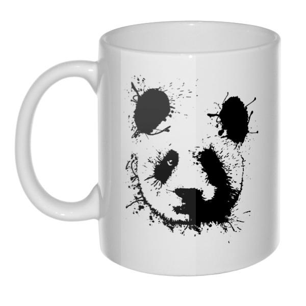 Кружка Панда кляксами