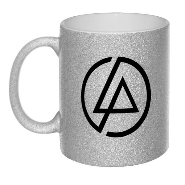 Кружка глиттерная Linkin Park